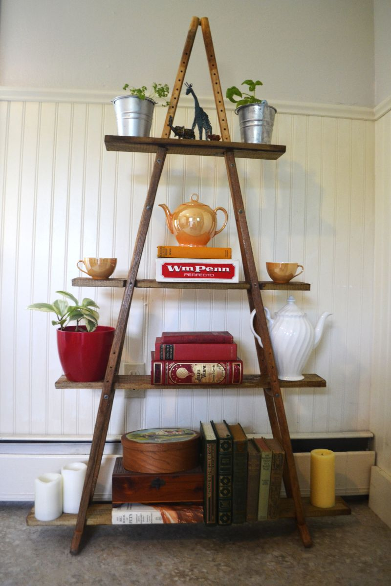 Build a shelf with old crutches crafts and creative things