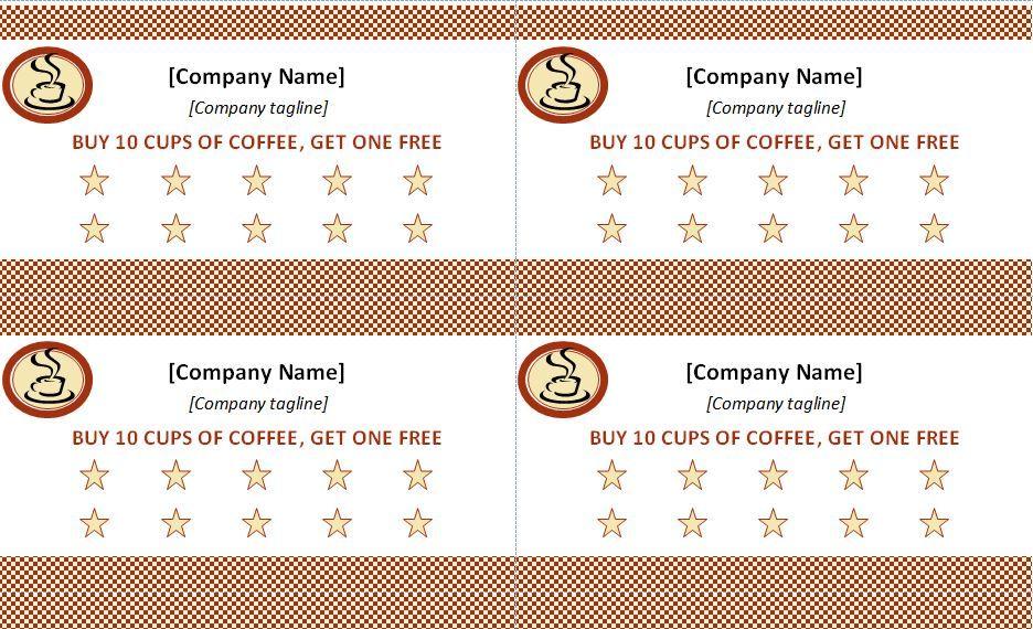 Punch Card Template Zumba Pinterest Card templates, Template - copy zumba punch card template free