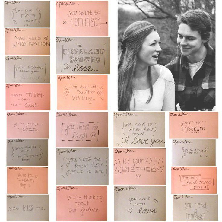 open when love over seas Pinterest Gift Relationship