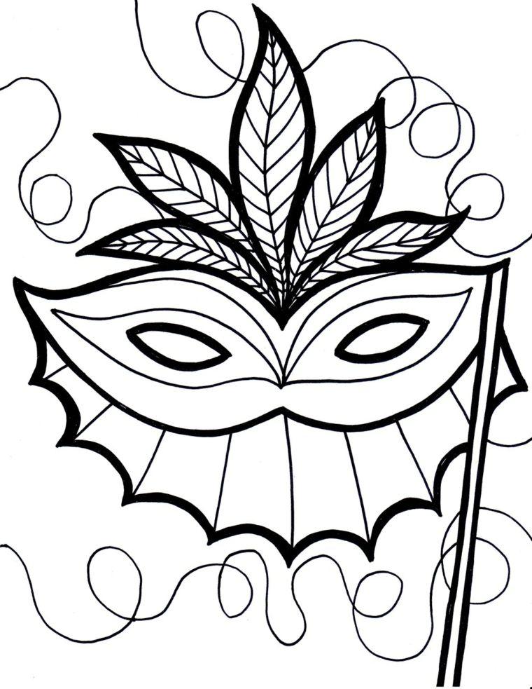 Disegni Maschere Di Carnevale Mascherina Da Ritagliare Martedi Grasso Maschere Carnevale