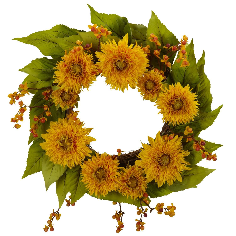 61 Spring Summer Silk Wreaths Teardrops Garland Ideas Silk Wreaths Wreaths Nearly Natural