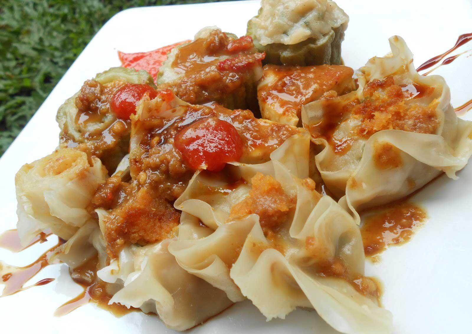 Resep Dan Cara Membuat Siomay Bandung Sajianlezat Com Resep Resep Masakan Resep Masakan