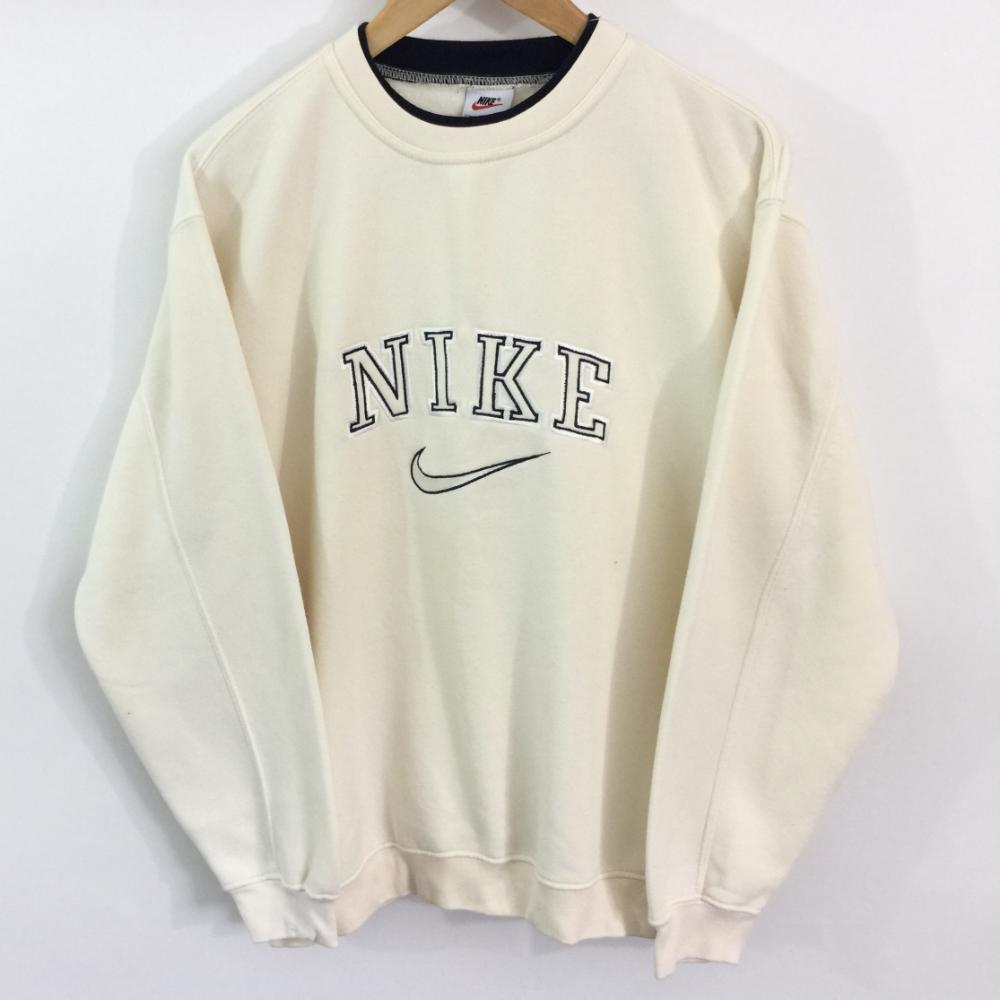Vintage Nike Sweatshirt Label Size Medium Cream Depop Vintage Nike Sweatshirt Sweatshirt Outfit Vintage Hoodies [ 1000 x 1000 Pixel ]