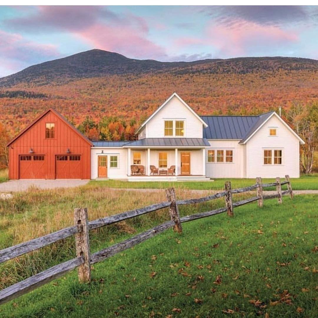 46 Brilliant Farmhouse Architecture Ideas New england