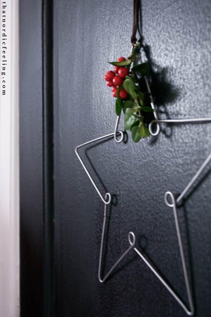 DIY skandinavischen Weihnachtsschmuck | das nordische Gefühl #travauxmanuelsnatu …