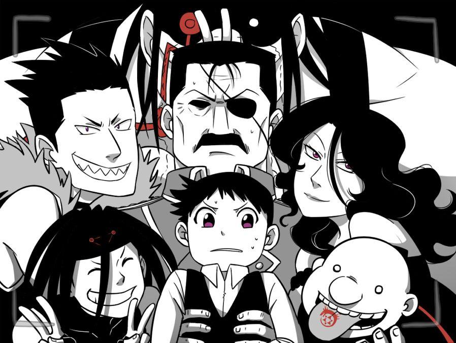 FMA Brotherhood seven deadly sins   Fullmetal alchemist ...