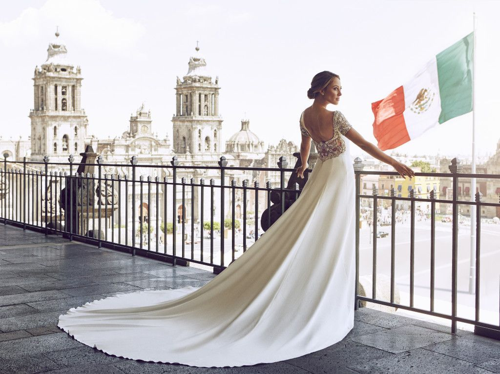 Shruthi In A Dreamy One Shoulder Pronovias Dress: Introducing Mexican TV Presenter, Vanessa Huppenkothen The