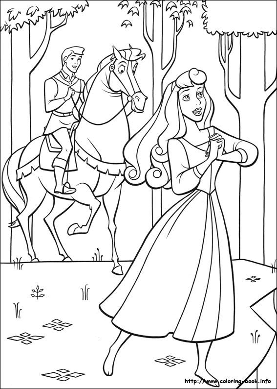 Sleeping Beauty coloring picture Coloring Pages Pinterest - new disney princess coloring pages sleeping beauty