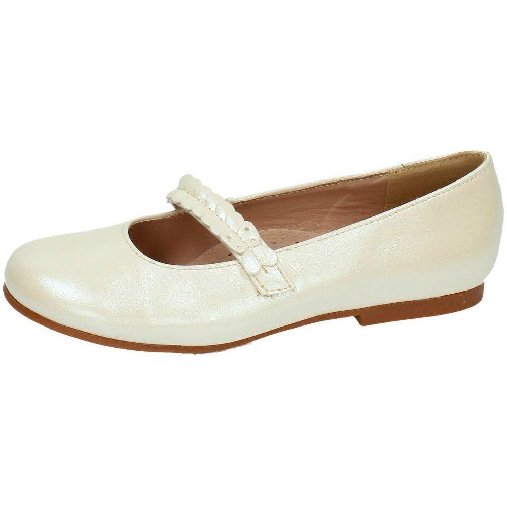 21df2d952 BONINO 5-B5741B-12 Zapatos DE COMUNIÓN NIÑA Zapato COMUNIÓN NACARADO 32   Amazon
