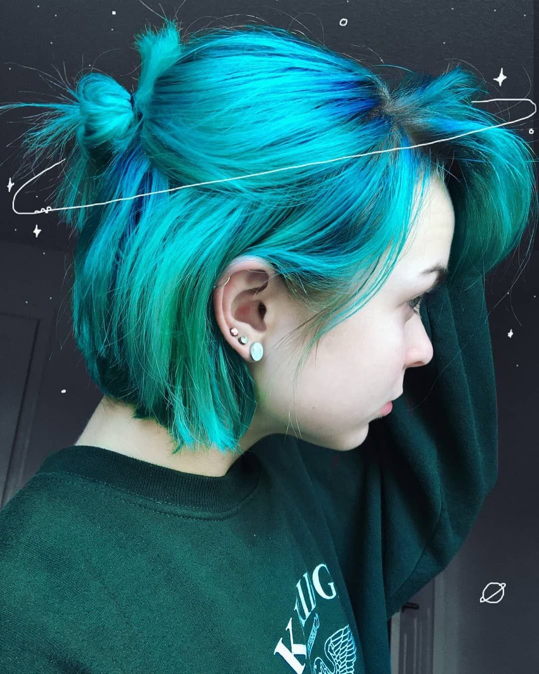 Alternative Fashion Alternativexfashion No Instagram Hair Styles Blue Hair Hair Looks