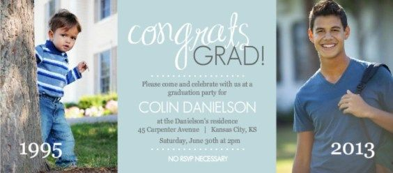 17 Best images about Graduation Announcements – College Graduation Invitation Wording Samples