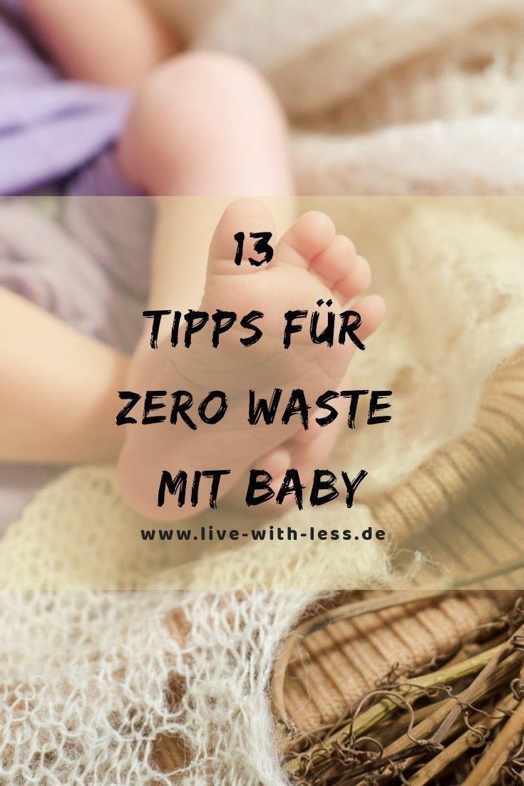 13 Tipps für Zero Waste mit Baby 13 Tipps für Zero Waste mit Baby