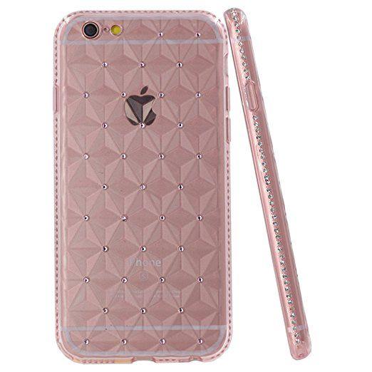 feb86adde Amazon.com: iPhone 6S Plus Case, iYCK [3D Prism] Soft Flexible TPU ...