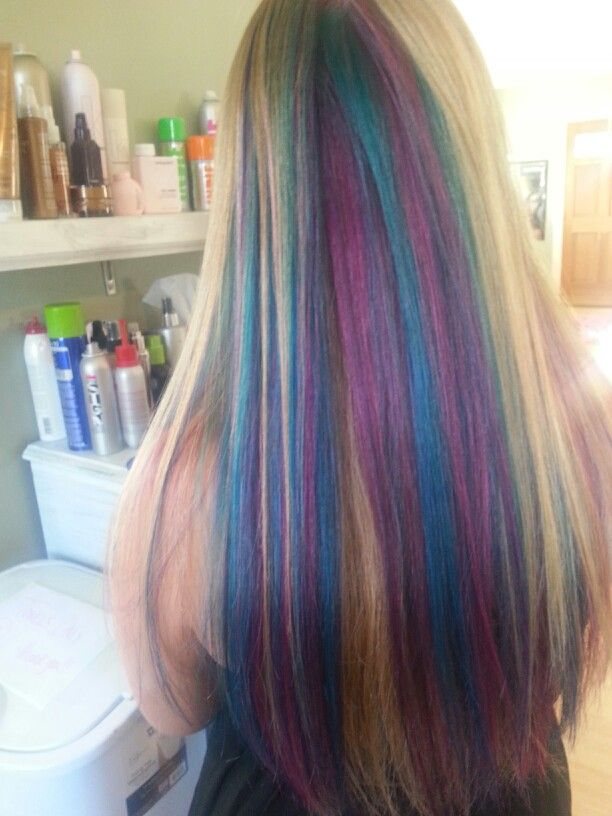 Goldwell elumen turquoise violet and hot pink, TQ@all VV ...