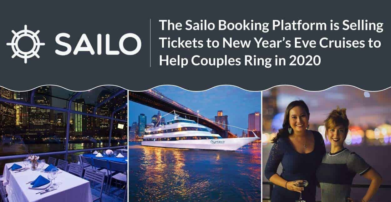 The Sailo Booking Platform is Selling Tickets to New Year