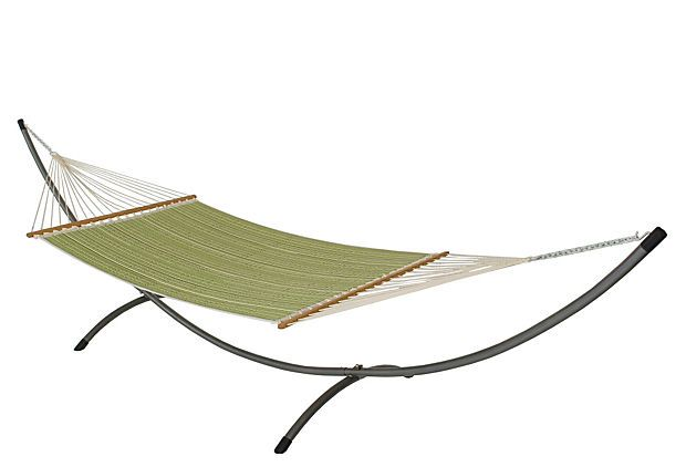 This hammock would be my husband's second home.