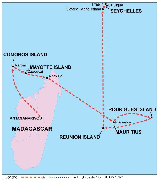 Indian Ocean Islands Indian Ocean Islands Coastal