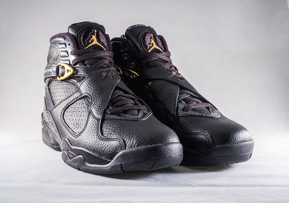 Air Jordan 8 Retro AEURoeCigar ChampagneaEUR Pack 27 Picture Preview