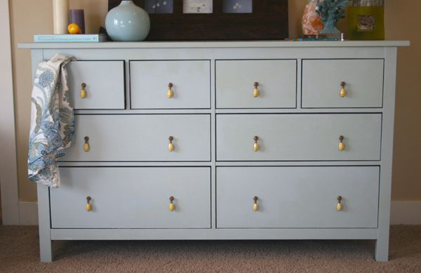 updated ikea hemnes dresser
