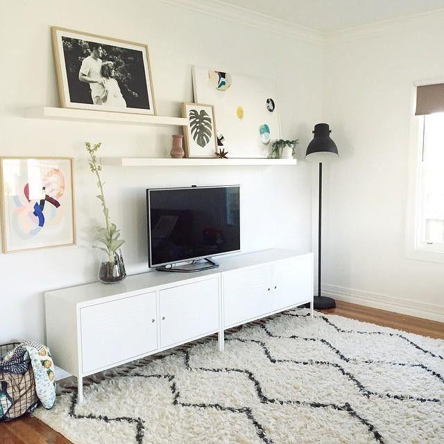 Shelves Above Tv Living Room Inspiration In 2019 Living Room