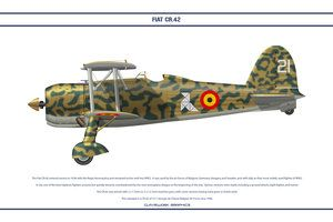 FIAT CR42 Belgium 2 by WS-Clave