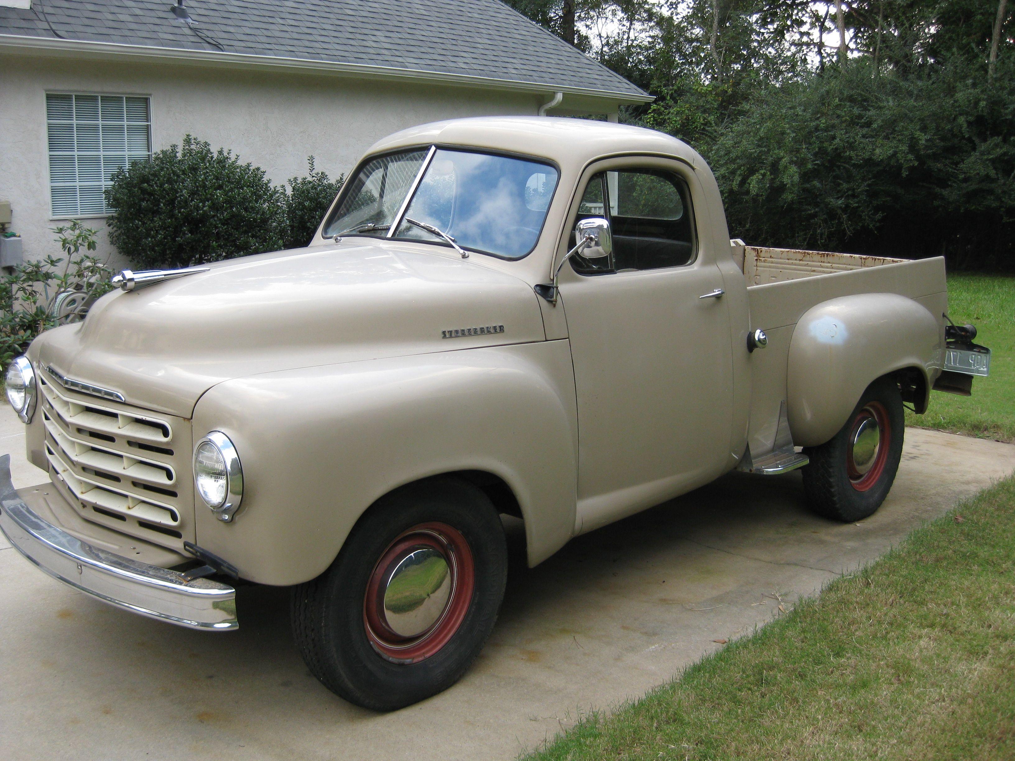 1951 Studebaker Pickup Studebaker Trucks Classic Trucks