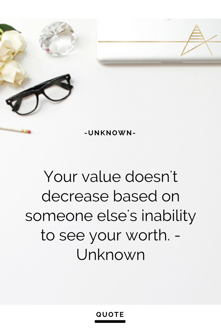 self-worth, you are valuable, know your worth ...