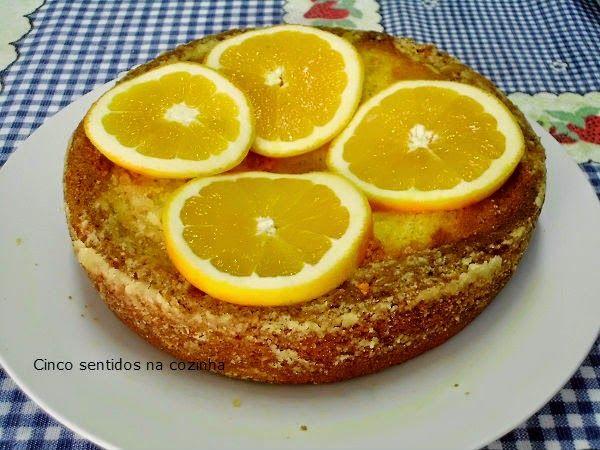 Cinco sentidos na cozinha: Bolo de laranja