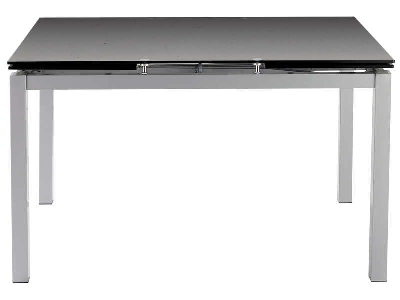 table rectangulaire avec allonge 200 cm max tokyo With idee deco cuisine avec table en verre extensible conforama