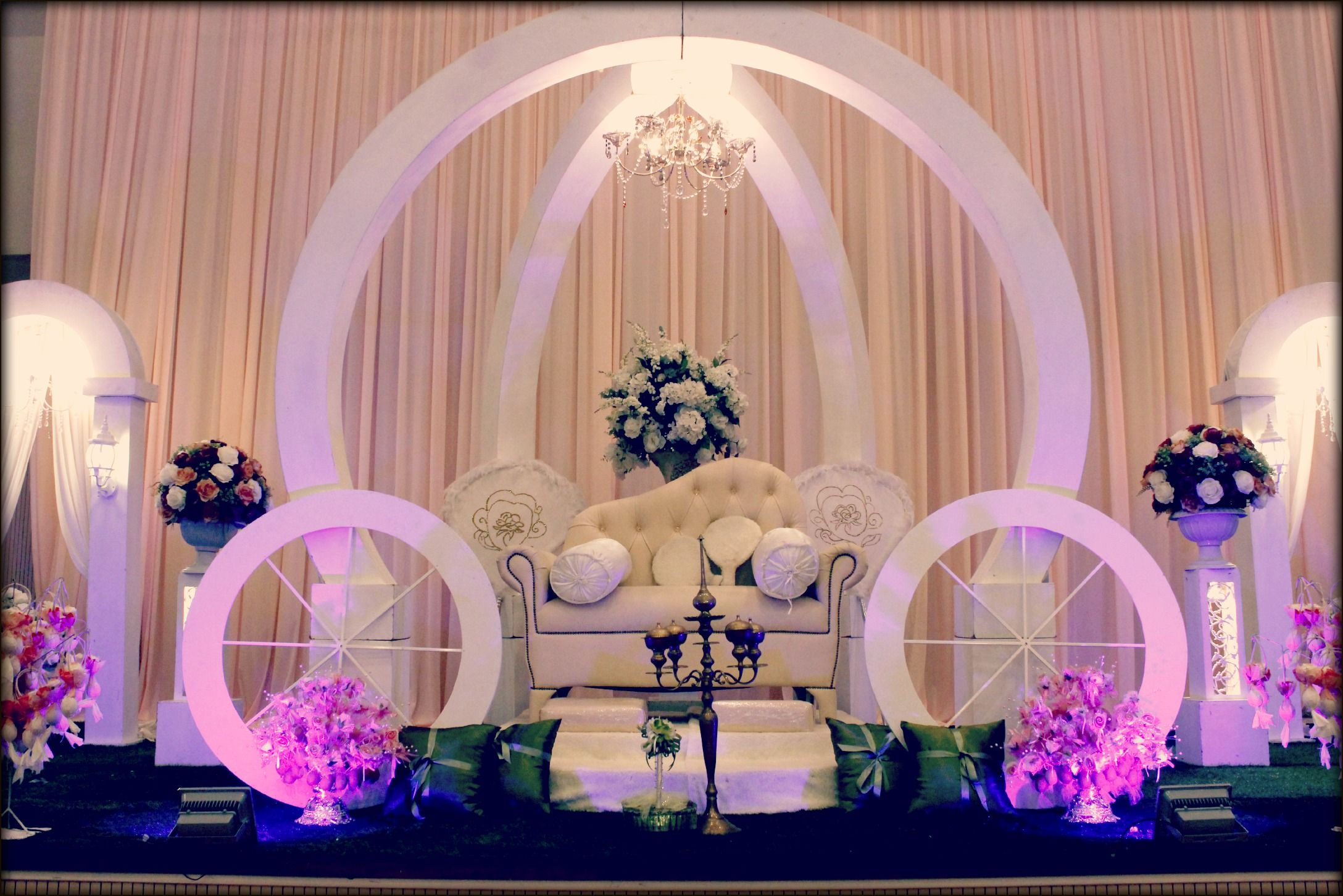 Nigerian wedding stage decoration  wedding stage pelamin  jasonpreena  Pinterest  Wedding stage
