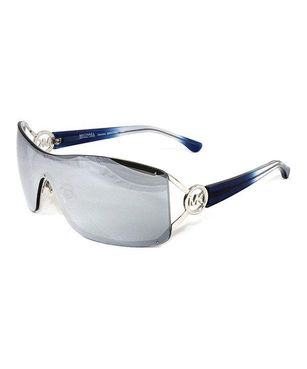 Look what I found on #zulily! Michael Kors Silver Sleek Gradient Sunglasses by Michael Kors #zulilyfinds
