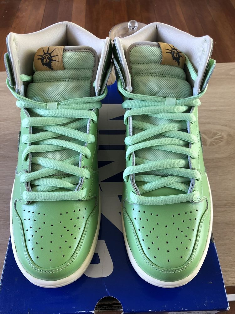 huge discount 49837 46781 Nike Dunk High Statue Of Liberty #fashion #clothing #shoes ...