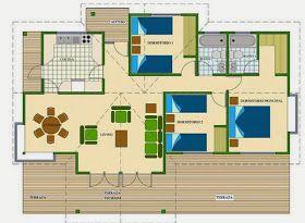 Como Dibujar Planos De Casas Gratis Planos De Casas Pequenas Projetos De Casas Terreas Plano De Casa