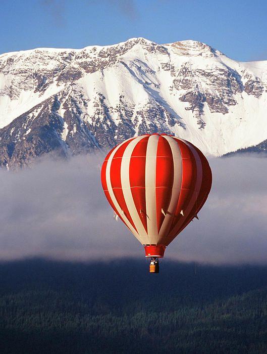 Balloon Over Wallowa | Full of HOT Air! | Hot air balloon