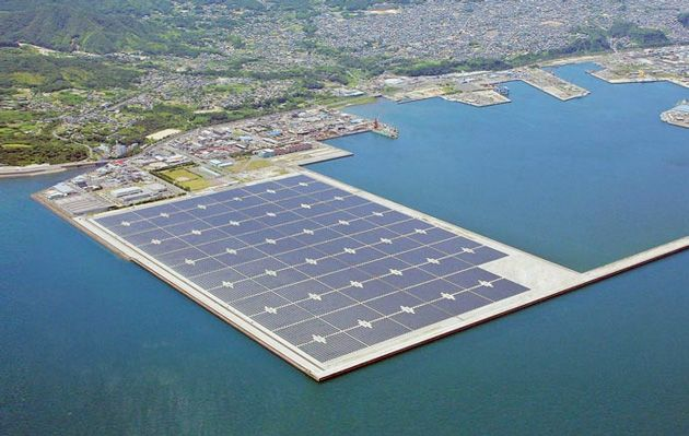 India Plans To Build The World S Largest Floating Solar Farm Solar Solar Power Station Solar Power