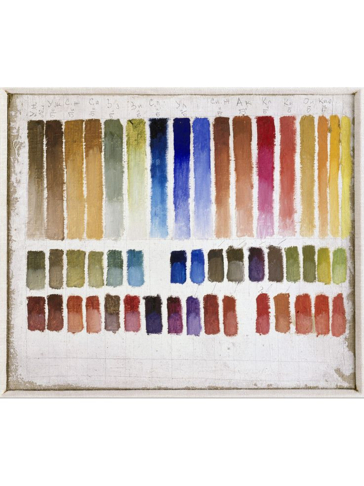 Design is fine michail matjuschin color chart oil on canvas museum ludwig cologne source rba also rh pinterest