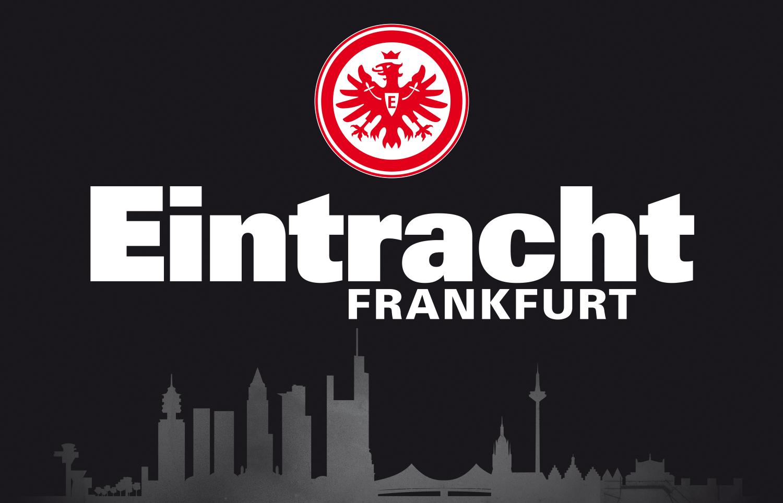 Zimmerflagge Eintracht Frankfurt Skyline Schwarz 90 X 140 Cm Eintracht Frankfurt Eintracht Frankfurt Logo Eintracht