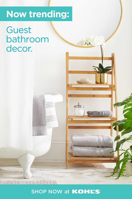 Shop Now At Kohls Com In 2020 Simple Bathroom Designs Decor Eclectic Bedroom