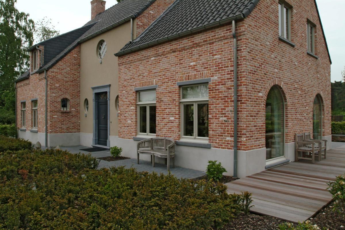 Stijl woning belgische architectuur huizen mooie for Huizen architectuur