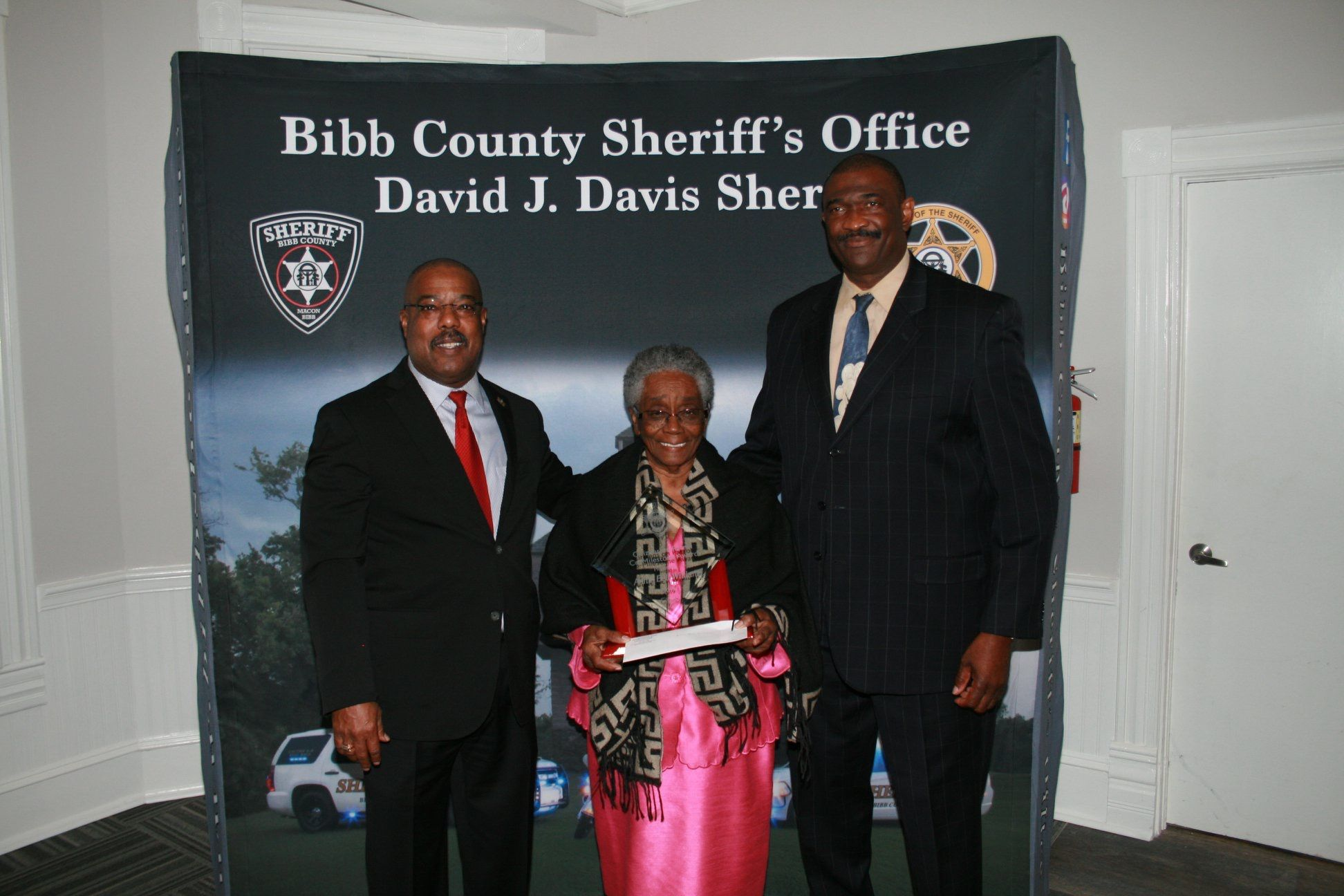 Our citizens on patrol volunteers were recently honored