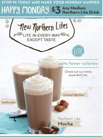 Northern Lite Caramel High Rise At Caribou Coffee Small Wo