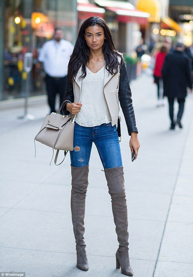 Kelly Gale leaves Victoria's Secret fittings in sexy thigh ...