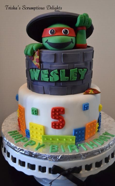 Teenage Mutant Ninja Turtles Cake Designs And Party Ideas Ninja