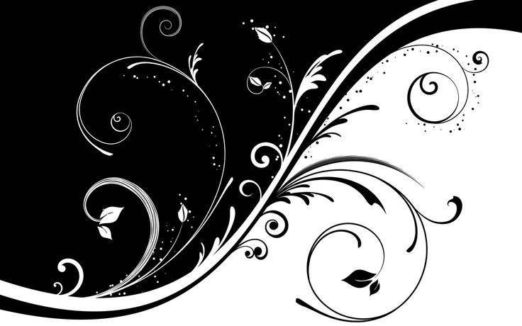 Simple Black And White Abstract Drawings Background 1 Hd Wallpapers