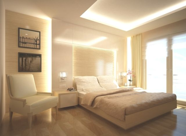 This Fabulous Bedroom Has A Combination Window Covering Of Sheer Roman Blinds For Privacy During