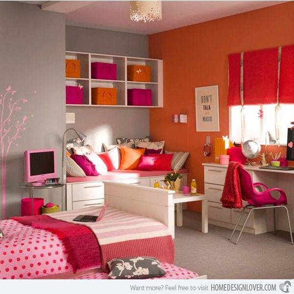 A Fun Way To Add Colors To Your Retro Bedroom Is Simply Using Colorful Bedroom  Accessories