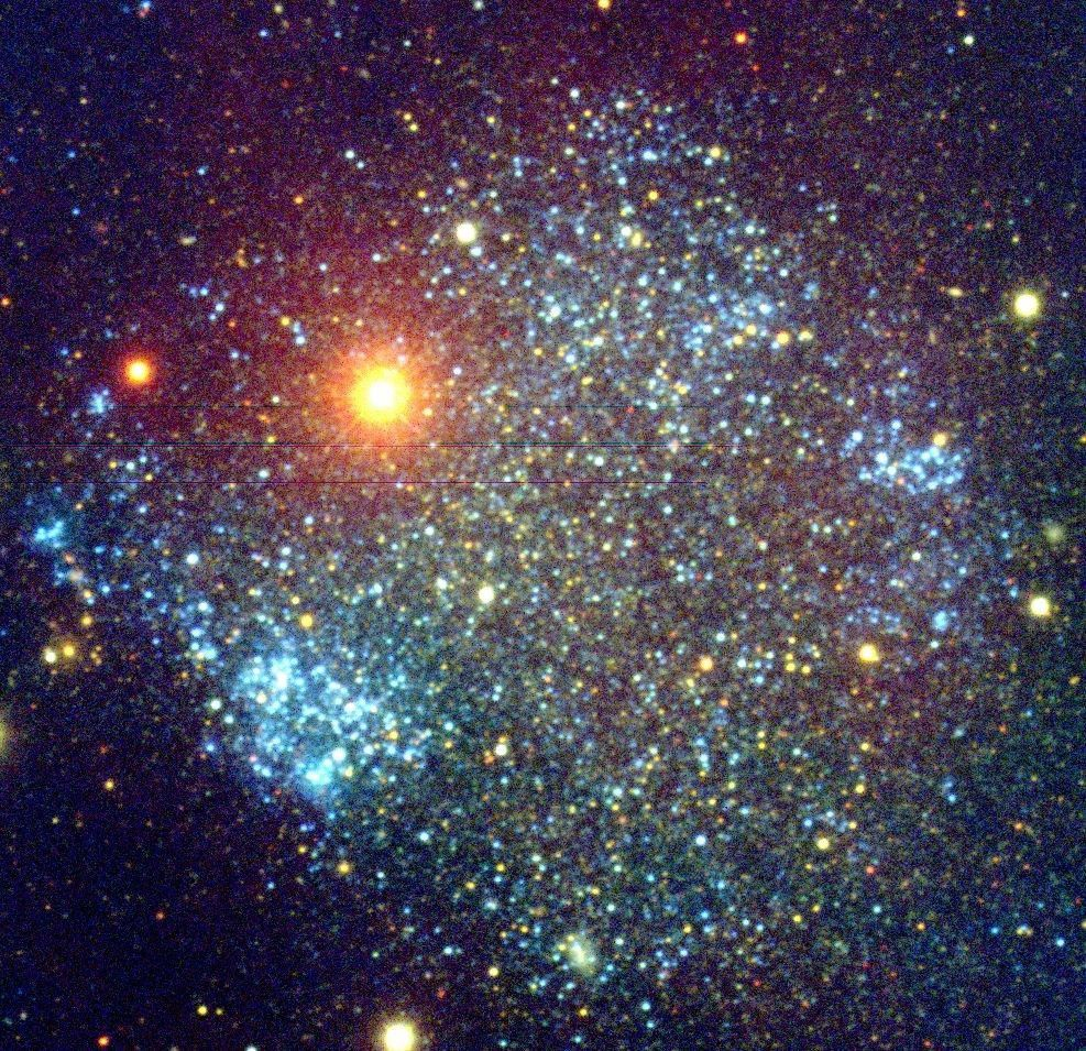 Sextans A : Dwarf Irregular Galaxy - From our perspective ...
