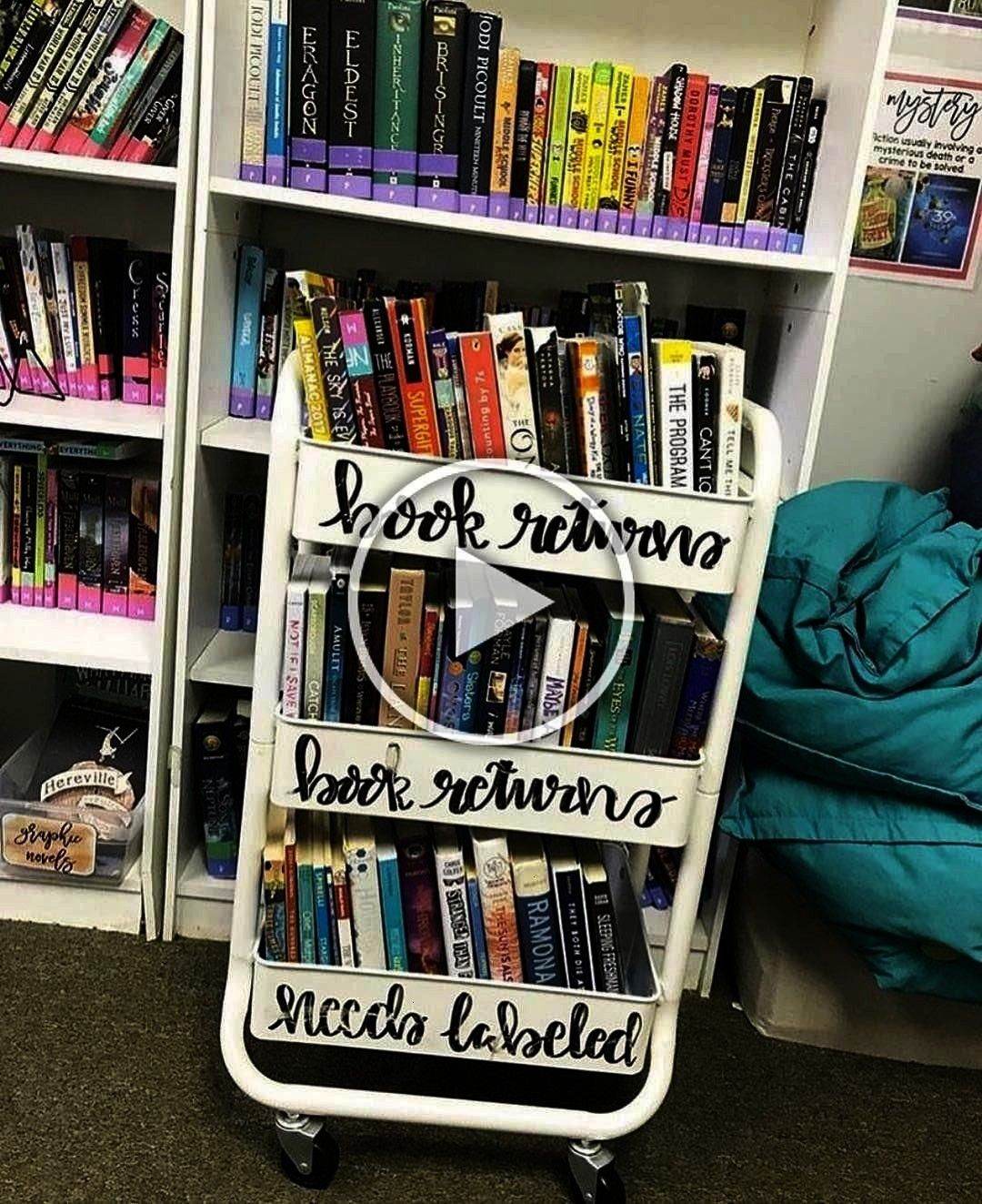 """Let's talk about classroom libraries... All of my books are organized on the shelves by genre,"