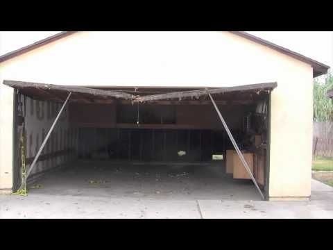 How To Fix A Sagging Header On A Garage Door Diy Home Improvement Home Improvement Home Renovation