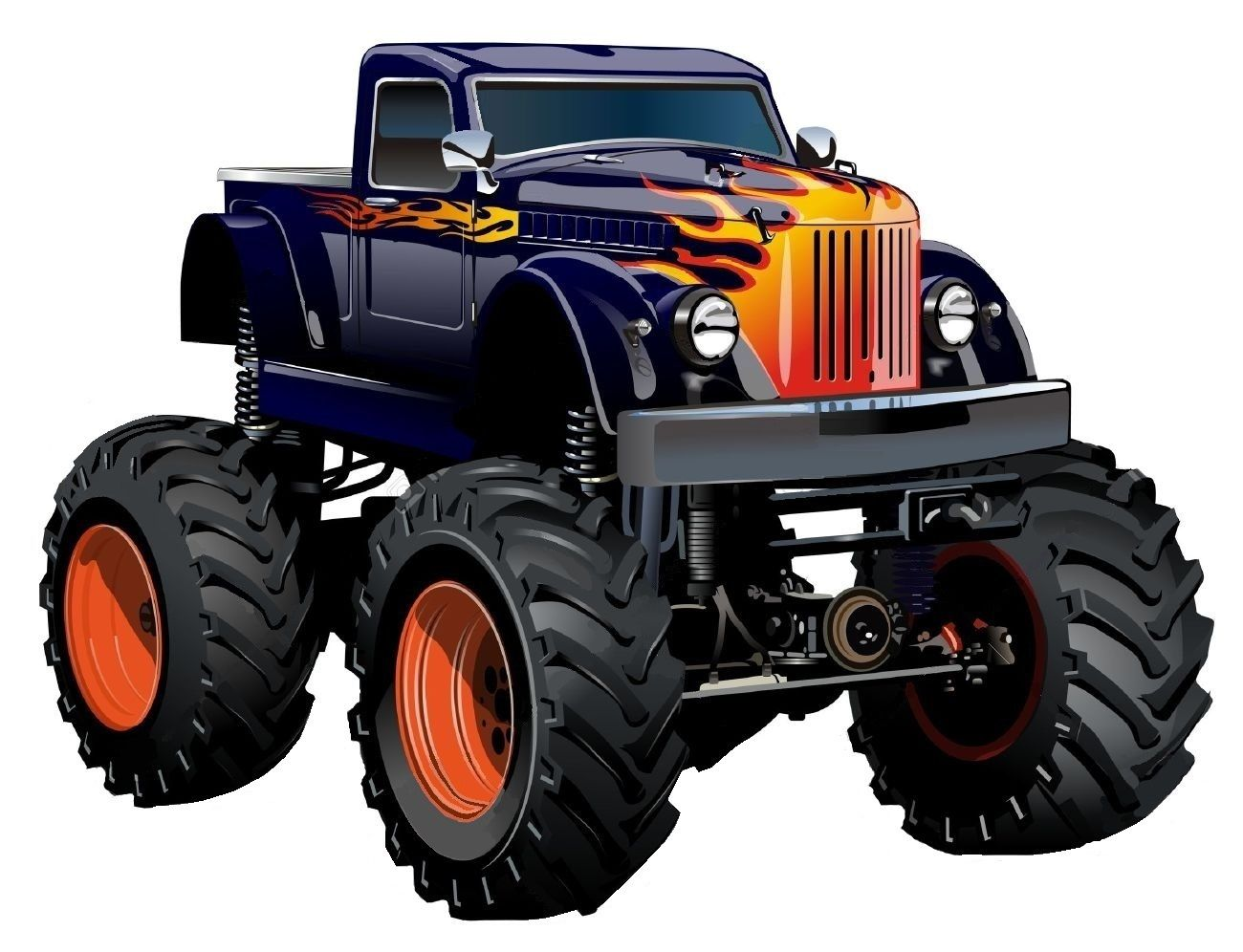 Pin By Joseph Opahle On Car Art Fun With Images Monster Trucks